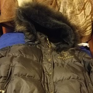 Baby Phat bomber puffer jacket